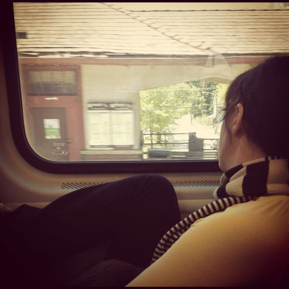 4.29.12: The train ride home